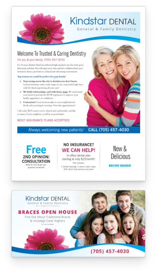 Sample neighborhood newsletter cover by Patient NEWS